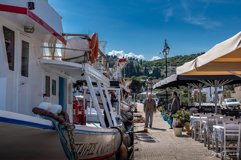 The Fishing Quay in Little Vathi