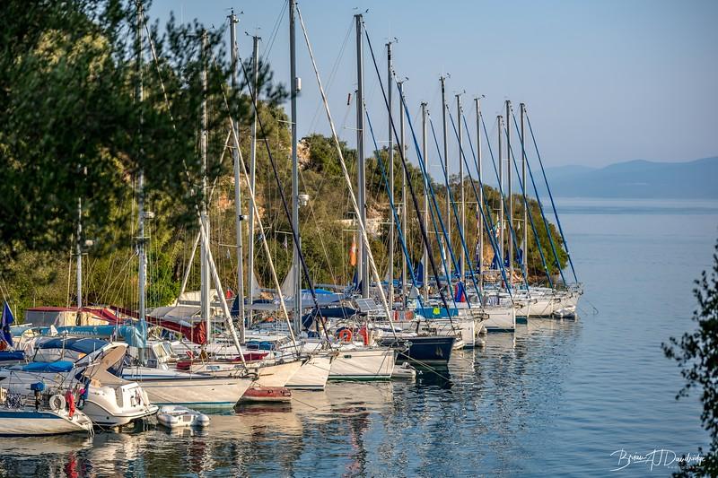 A popular spot for Yachtsmen and women - Karnagio