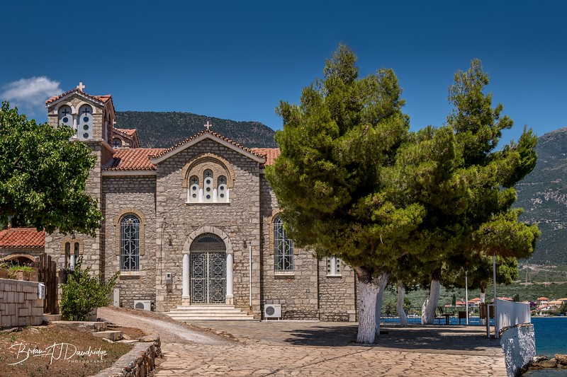 The Church of Saint Georgios in Trizonia