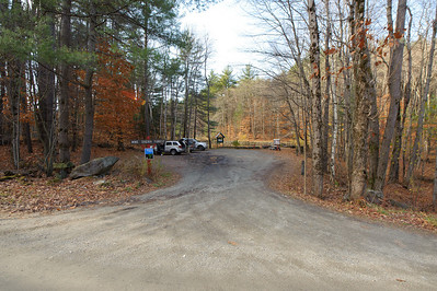 The Madame Sherri Forest parking area.