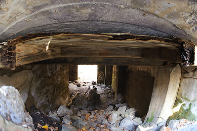 I love the fisheye's ability to get into tight spaces. Evidently the castle had a basement.