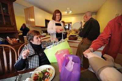 Roberta's a grandma! Presents!