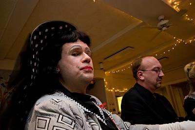 "Guest (non-suspect) Peggy Sue: ""A newspaper gossip columnist."""