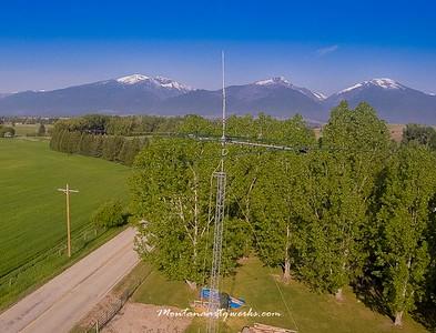Still Photo looking SW at Bitterroot  Mountains through SteppIR