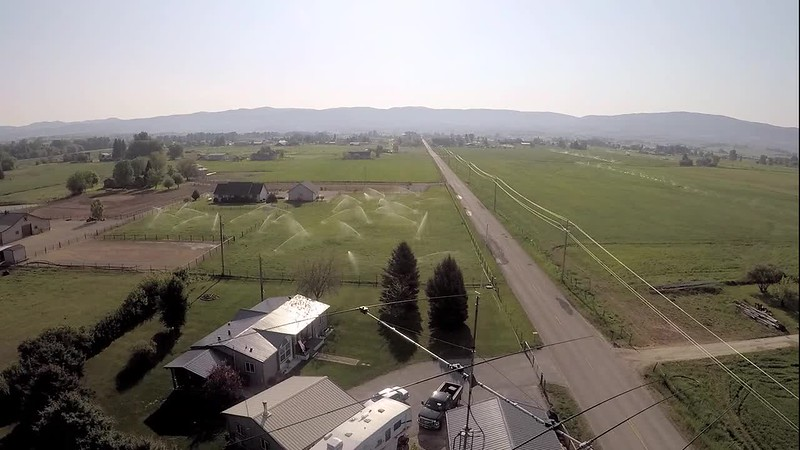 Drone orbit around 4 ele SteppIR
