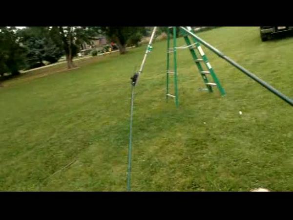 Raising the SteppIR Antenna from horizontal to verticle