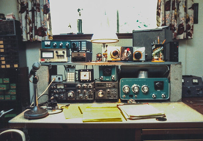 My TS 830S Station in the mid 80's