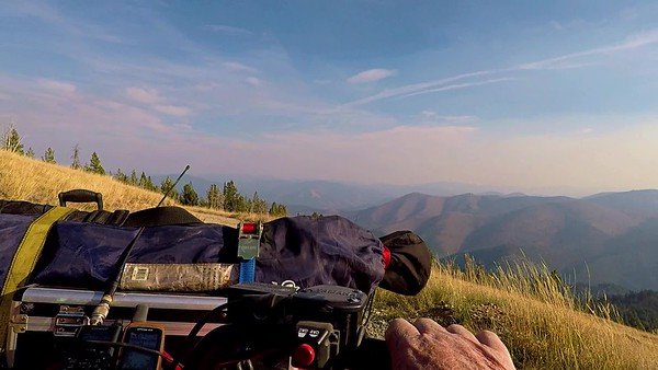 The View From from my ATV -Return Trip