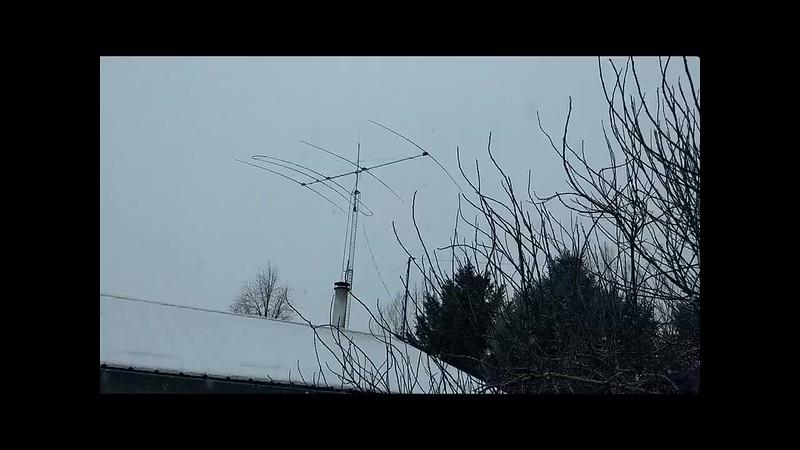 SteppIR Antenna in 20 MPH wind