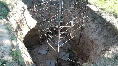 Tower Base Intallation  - Stevensville, MT