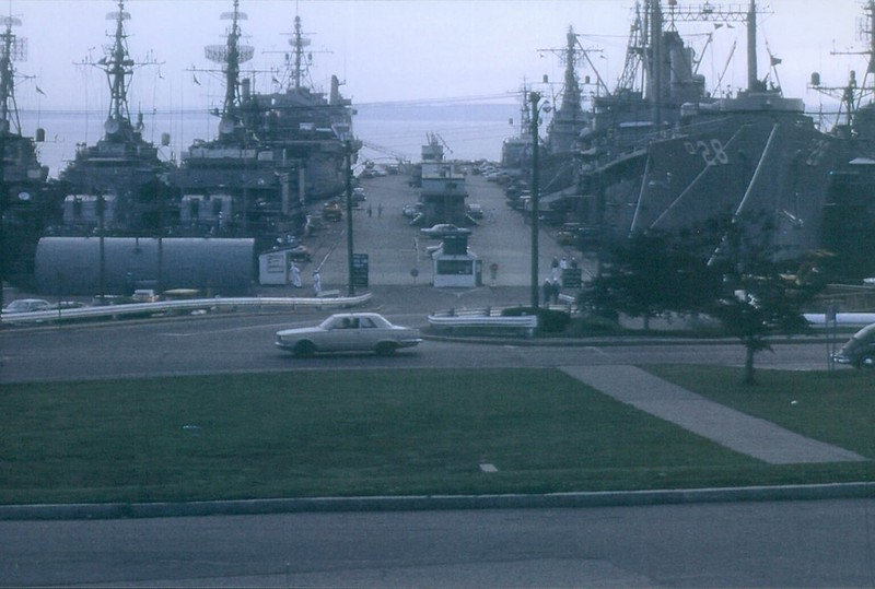 Newport Shore Patrol Duty Navy