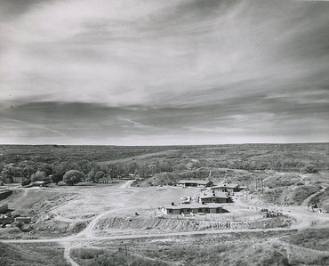from the water tower in 1962