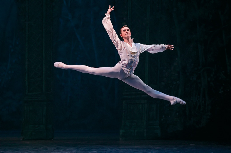 Aitor Arrieta, a soloist of the English National Ballet