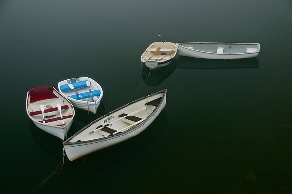Boats at Rest, Maine