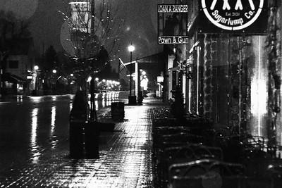 Main Street Before Dawn