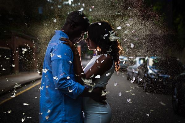 nigerian wedding photos, engagement photos in london
