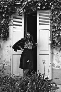 Cousin Allison in Monmartre, Paris