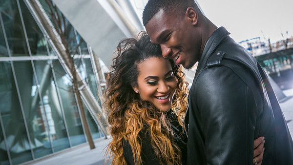 afro caribbean pre wedding photos in london