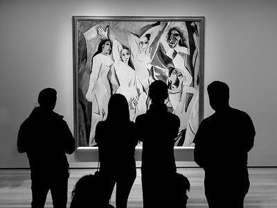 """Pablo Picasso's """"Les Demoiselles d'Avignon"""" (1907)"""