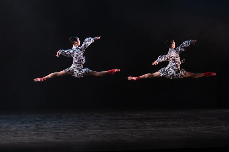 Momoko Hirata and Miki Mizutani, the Birmingham Royal Ballet