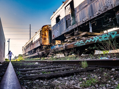 Abandoned Trains, Miami