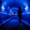 The blue tunnel