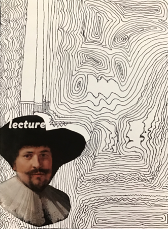"Carl Kirchhoff, grade 7 ""Past and Present"" marker, photo 9""x12"""