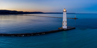 Frankfort Before Sunrise Aerial