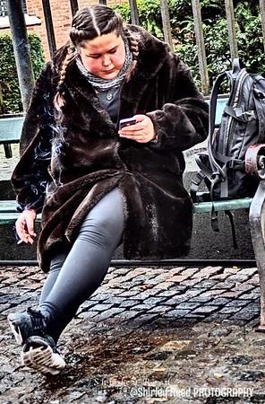 Danish Girl Smoking