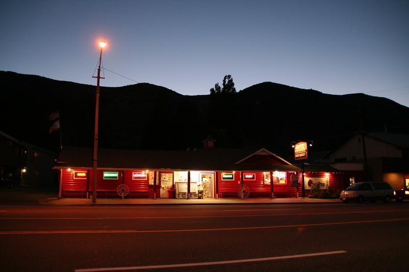 Last supermarket before Yosemite NP