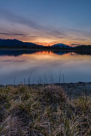 Kalum Lake Evening.
