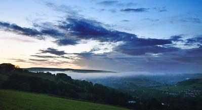 Mist over Calderdale