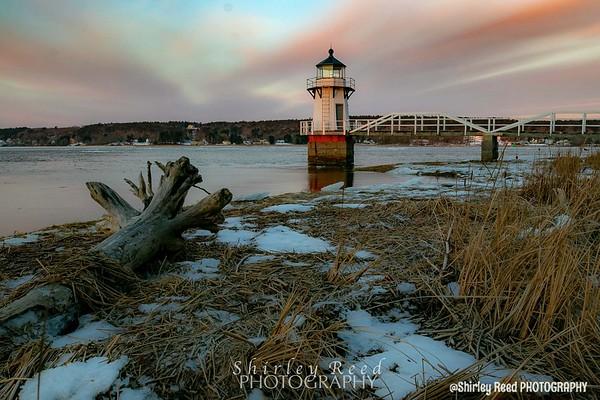 Doubling Lighthouse Sunrise