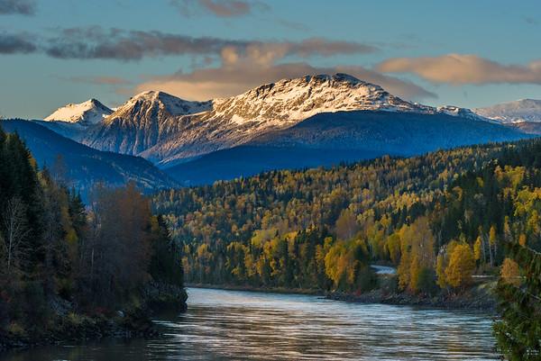 Fall along the Skeena River.