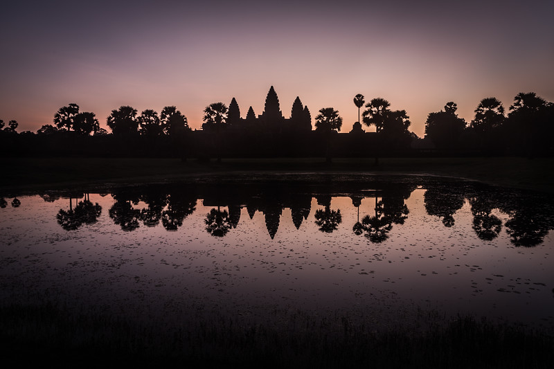 Romantic Angkor Wat