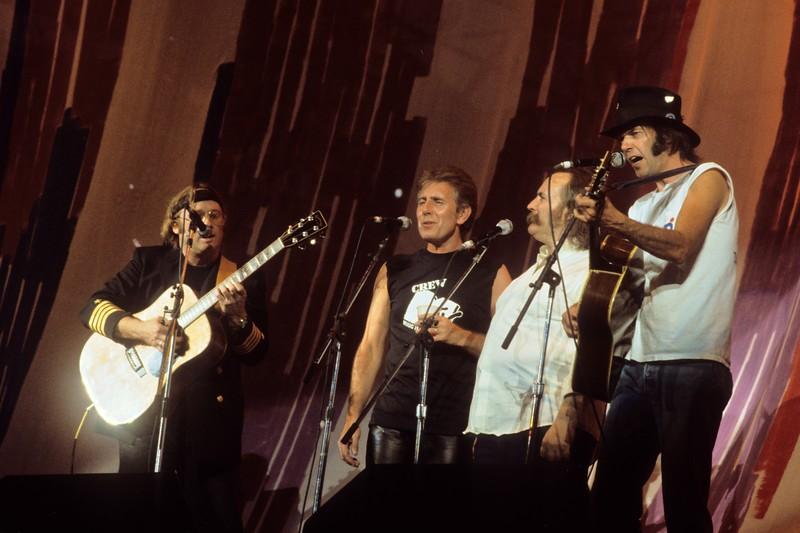 Crosby Stills Nash & Young at Live Aid