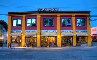 "Duncan Garage - Duncan, BC, Canada Visit our blog ""Inspiring A Community"" for the story behind the photo."