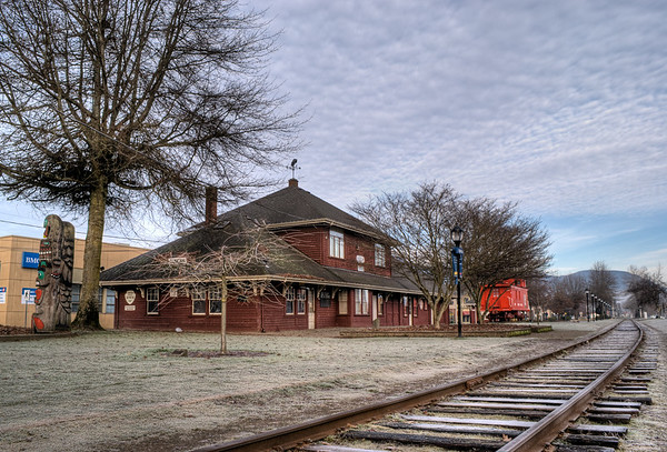 Duncan Train Station & Museum - Duncan, BC, Canada