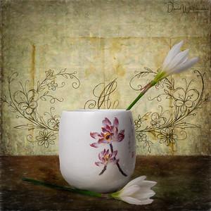 Crocus and Vase