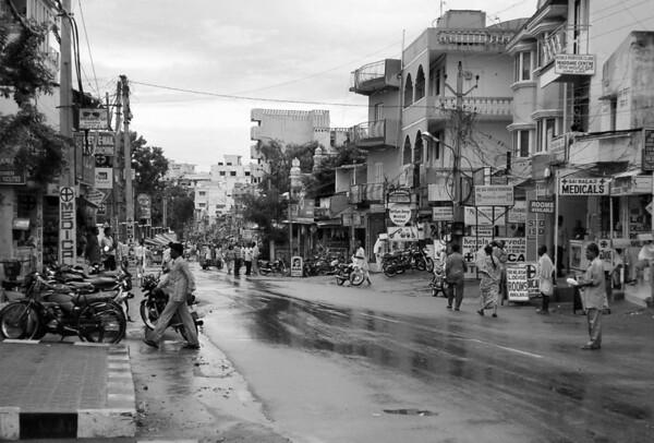 Main Road Puttaparthi