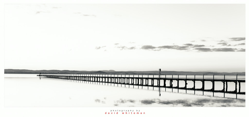 Long Jetty in Black and White