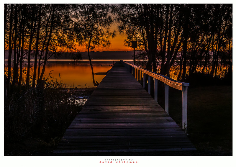 End of the Day at Long Jetty