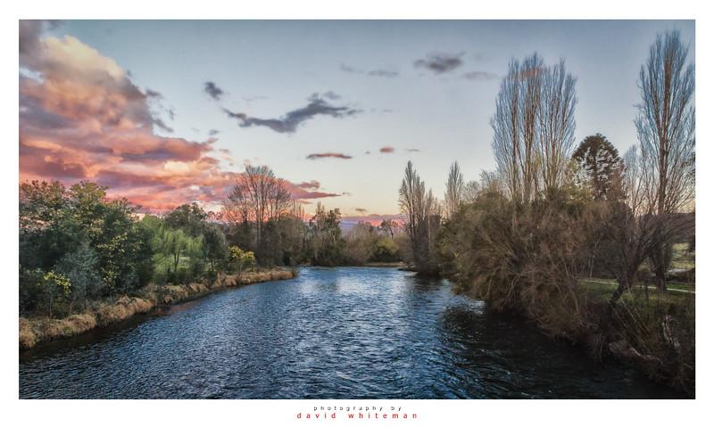 Sunset Tumut River