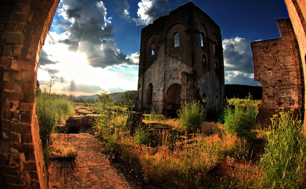 Blast Furnace Lithgow NSW... Highly Commended 2011 Penrith Show