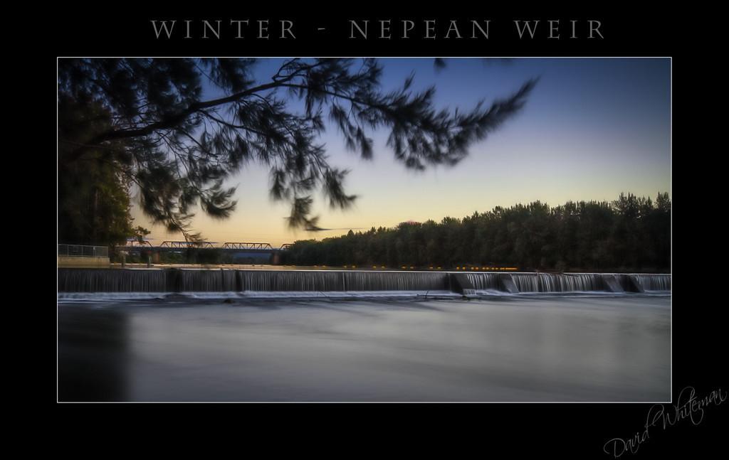 Winter - Nepean Weir