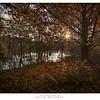 Autumn Sunset Mountain Lagoon