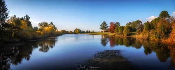 Yarramundi Farm Lagoon in Autumn