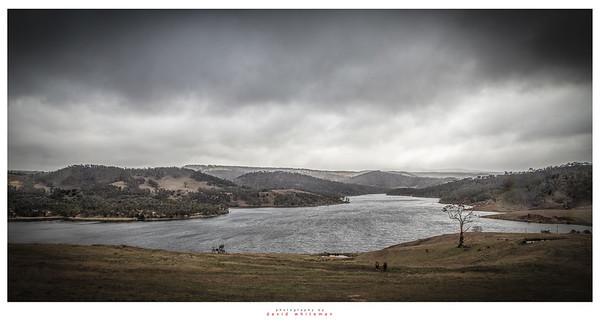 Blowing Snow on Lake Lyell
