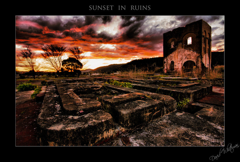 Sunset in Ruins