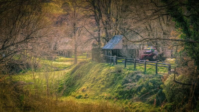 Farm shed at Carcoar